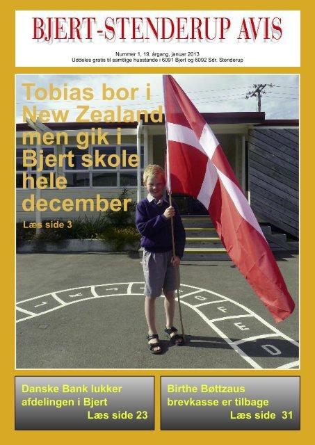Bjert-Stenderup avis Januar 2013 - Sdr. Stenderup