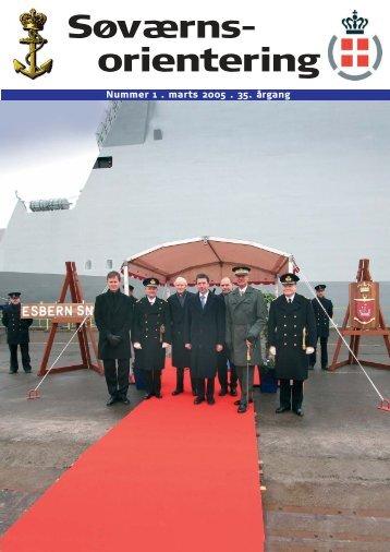 Søværnsorientering nr. 1 / 2005