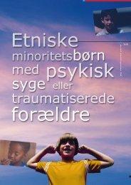 SUS Etniske b rn - Børn med psykisk syge forældre