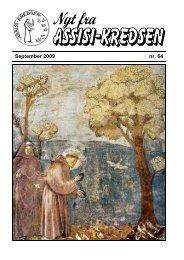 September 2009 nr. 64 Fra La Verna - Assisi-Kredsen