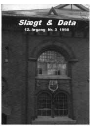 1998-3 slægt & data.pdf - DIS-Danmark