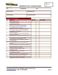 Sjekkliste for tårn og mastemontasje
