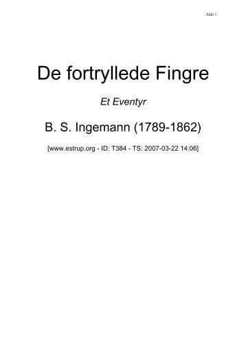 De fortryllede Fingre