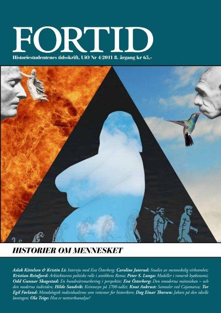 HISTORIER OM MENNESKET - Fortid