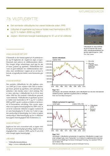Natur og Miljø 2009. Del B: Fakta. Tema 7 Naturressourcer