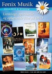 Livskloge, spirituelle og opløftende film på DVD - Fønix Musik