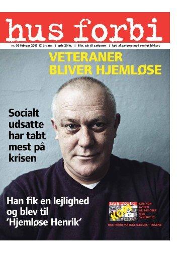 veteraner bliver Hjemløse - Hus Forbi