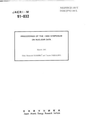 JAERI-M-91-032.pdf:11.56MB