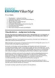 Læs printvenlig version af Vikarnyt nr. 3 (22 ... - Dansk Erhverv