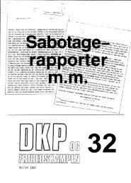 DKP og Frihedskampen Bind 32