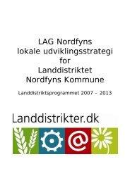 LAG Nordfyn: Udviklingsstrategi 2007-2013