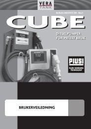 Dieselpumpe Cube 56 og 72 2.0 MB - Vera Tank