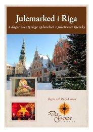 Julemarked i Riga - DaGama Travel