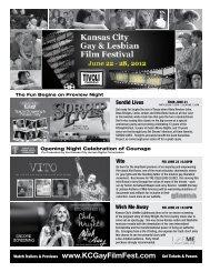 See, Save & Support the KCGayFilmFest - Kansas City LGBT Film ...