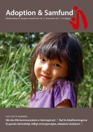 Adoption & Samfund - Adoption og Samfund