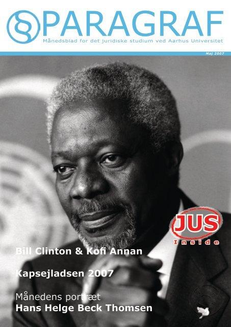 Hans Helge Beck Thomsen Bill Clinton & Kofi Annan - Paragraf