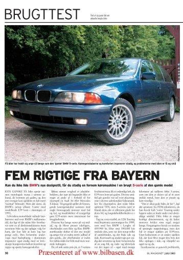 528i Touring - årgang 2000 - BMW side