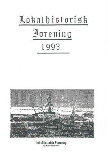 JLohal b istorish Jorening - Lokalhistorisk arkiv i Karup.