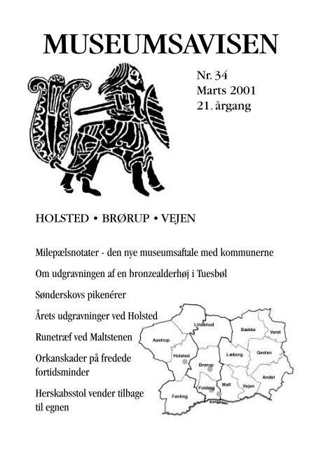 Museumsavisen nr. 34 marts 2001 - Egnsmuseet på Sønderskov