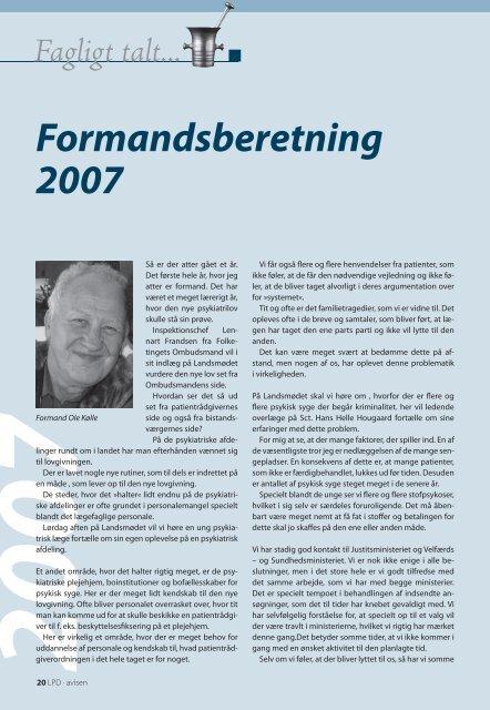 Nummer 70 (marts 2008) - Landsforeningen af Patientrådgivere ...