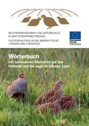 Jagdwörterbuch ...in Deutsch - Dänisch