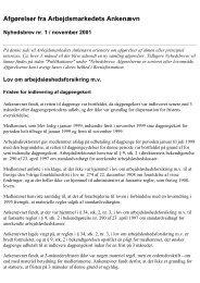 Nyhedsbreve fra AMA 1999-2003 - Ankestyrelsen