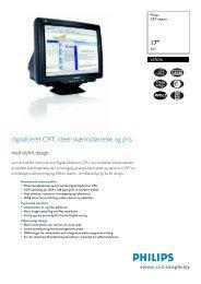 107E76/00 PHILIPS CRT-skærm - Icecat.biz