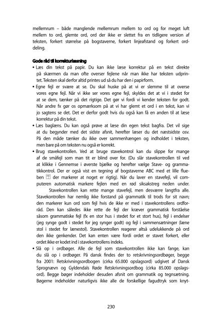 Korrekturtegn - Frydenlund