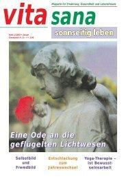 Ausgabe Januar / 2003.01 (PDF) - vita sana Gmbh