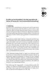 Kvalitet og bæredygtighed i den - Danske Regioner