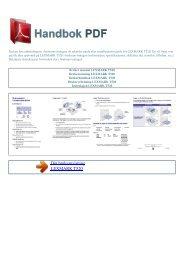 Bruker manual LEXMARK T520 - HANDBOK PDF