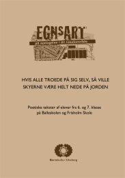 Læs et udpluk af de poetiske tekster her - Børnekultur Silkeborg