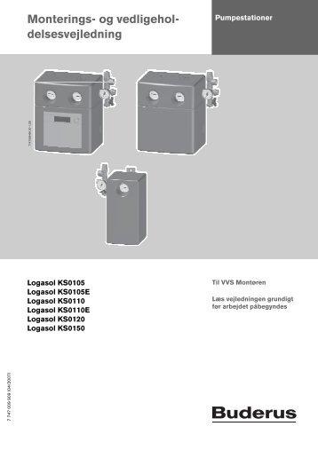 7. Kompakt pumpestationer KS0105.pdf - Buderus