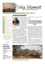 Last ned nyhetsbrevet for mars 2011 - NMS