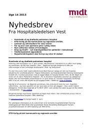 Print udgave - Hospitalsenheden Vest - Region Midtjylland