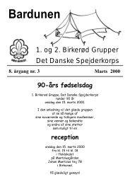 Marts 2000 - 1. Birkerød Gruppe