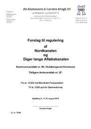 Forslag til regulering - Landvindingslaget Bøtø Nor