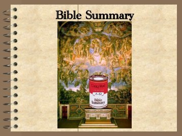 Bible Survey - John Meister