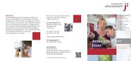 Flyer Ambualnte Hilfen Essen - Johanneswerk