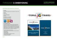 typografi & ombrydning - Casper Andersen - Mediegrafiker - Portfolio