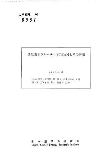 JAERI-M-6967.pdf:0.55MB