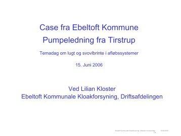 Lugtgener fra Tirstrup-Rosmus-Balle-kloakledningen