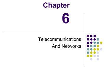 Telecommunications - John Meister