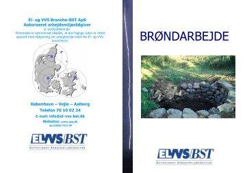 BRØNDARBEJDE - El- og VVS/BST