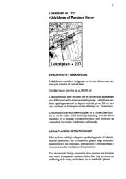 Lokalplan 227, Udvidelse - Randers Havn