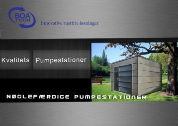 Katalog for pumpestationer - BoaTech