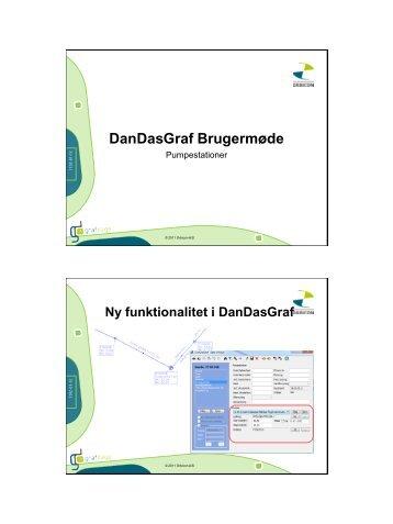 DanDasGraf Brugermøde Pumpestationer - Orbicon