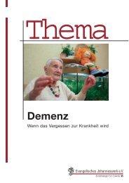 Demenz - Evangelisches Johanneswerk