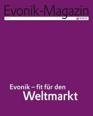 Evonik Magazin 3/2007 - Evonik Industries