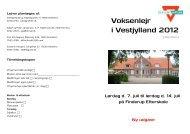 Voksenlejr i Vestjylland 2012 - KFUM og KFUK i Danmark